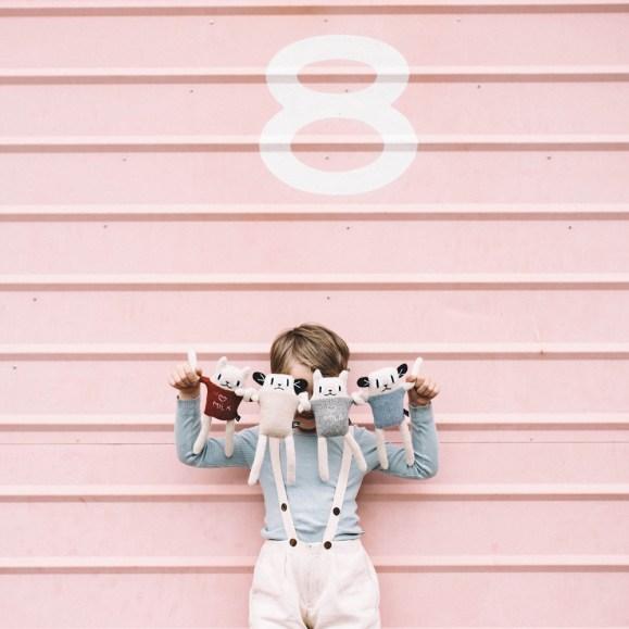 Doudou en laine chat - Idées cadeaux de noël enfants mixte // Hëllø Blogzine blog deco & lifestyle www.hello-hello.fr