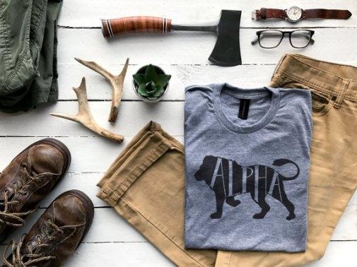 T-shirt Mâle Alpha - Cadeaux pour hipster // Hëllø Blogzine blog deco & lifestyle www.hello-hello.fr