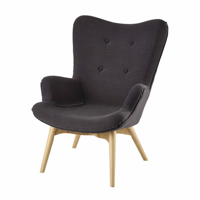 fauteuil scandinave maisons du monde hll blogzine blog deco lifestyle wwwhello