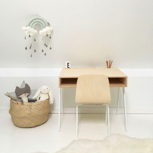 In2wood, bureau design pour enfant // Hellø Blogzine - Blog déco lifestyle - www.hello-hello.fr