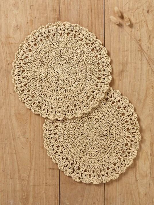 set-de-table-facon-crochet-par-lot-de-2