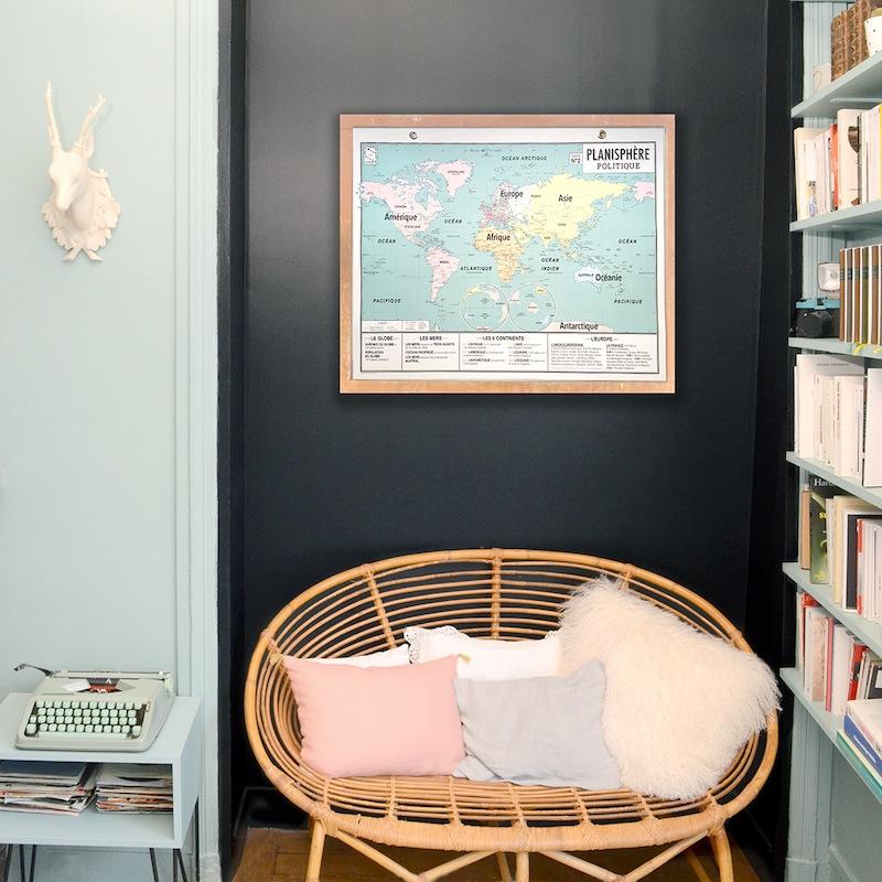 Carte d'écolier style rétro - Emile en ville // Hellø Blogzine Blog déco lifestyle - www.hello-hello.fr