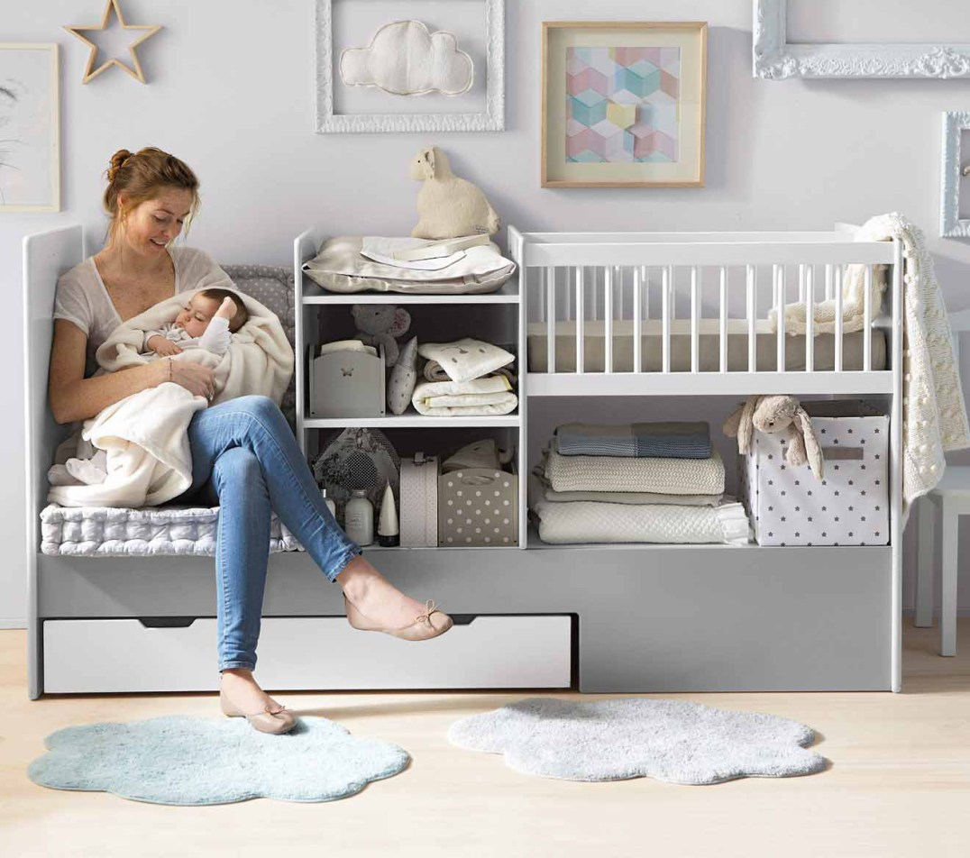 14 lits pour enfant gain de place volutifs modulables. Black Bedroom Furniture Sets. Home Design Ideas