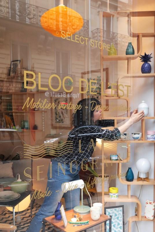 La boutique parisienne déco et mode de La Seinographe et de Bloc de l'Est // Hëllø Blogzine blog deco & lifestyle www.hello-hello.fr