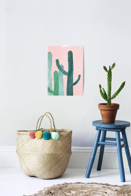 affiche-cactus-enfant-olliella