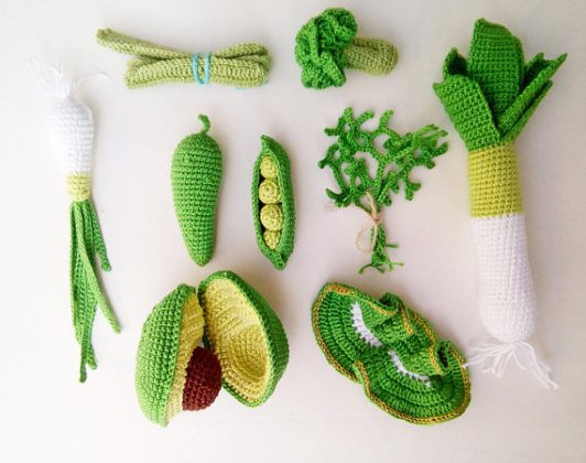 Cuisine pour enfant d co et design et ses accessoires for Decoration de cuisine en crochet