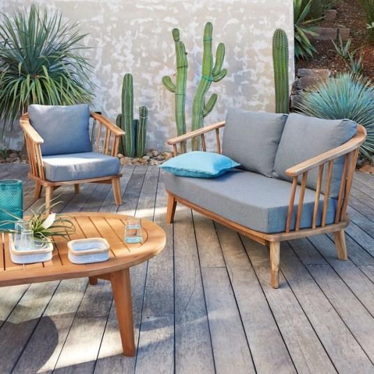 12 canapés de jardin qui ressemblent à des canapés de salon