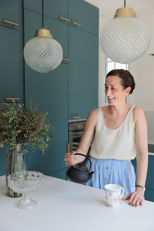 La maison néo art déco de Mylène Kiener, co-directrice de Frangin Frangine // Hëllø Blogzine blog deco & lifestyle www.hello-hello.fr