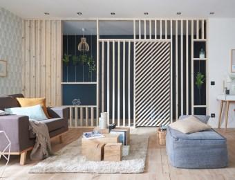 10 idees tres deco pour diviser l'espace Castorama// Hëllø Blogzine blog deco & lifestyle www.hello-hello.fr