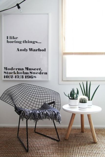Ces meubles et objets cultes qu'il faut connaitre La Chaise DSW // Hëllø Blogzine blog deco & lifestyle www.hello-hello.fr