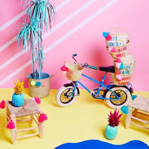 Déco tropicale dans la chambre des kids // Hëllø Blogzine blog deco & lifestyle www.hello-hello.fr