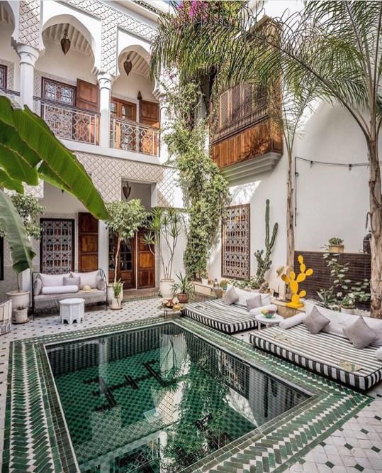 Ces hôtels ultra instragrammables qui nous font rêver Riad Yasmine// Hëllø Blogzine blog deco & lifestyle www.hello-hello.fr