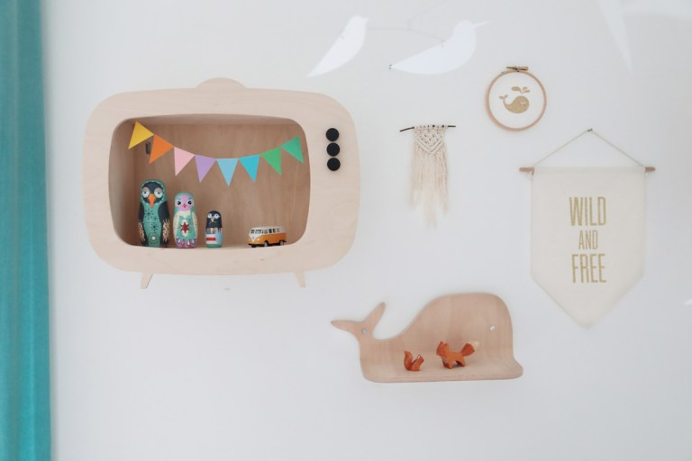 Etagere TV pour enfant Up Warsaw // Hellø Blogzine - Blog Deco Lifestyle