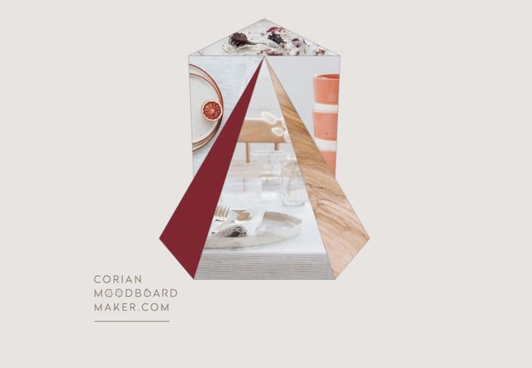 Corian® Moodboard Maker, un moodboard arty et facile à créer #CorianMoodboardMaker // Hëllø Blogzine blog deco & lifestyle www.hello-hello.fr