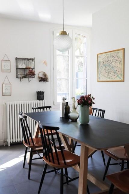 La maison rétro chic de Mylène, cogérante de Frangin Frangine // Hëllø Blogzine blog deco & lifestyle www.hello-hello.fr