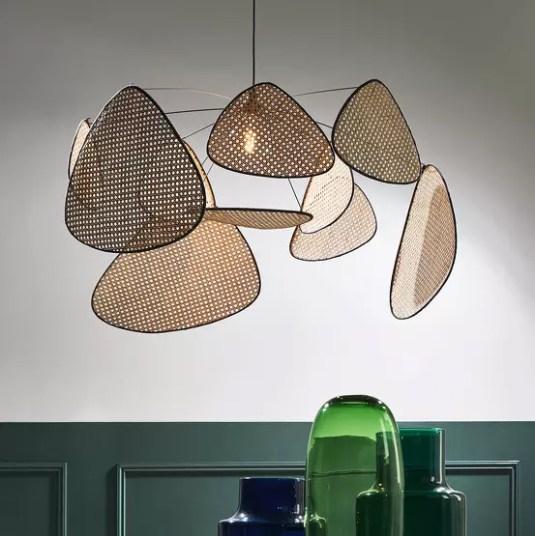 Lumière sur les luminaires en cannage // Hëllø Blogzine blog deco & lifestyle www.hello-hello.fr