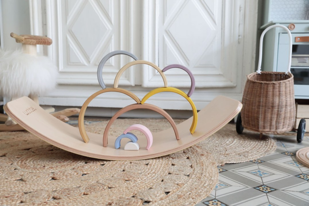 Le wobble board, une planche d'équilibre design pour les petits et les grands // Hëllø Blogzine blog deco & lifestyle www.hello-hello.fr