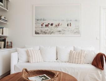 L'appartement épuré de l'instamum Lara Loves Paris // Hëllø Blogzine blog deco & lifestyle www.hello-hello.fr