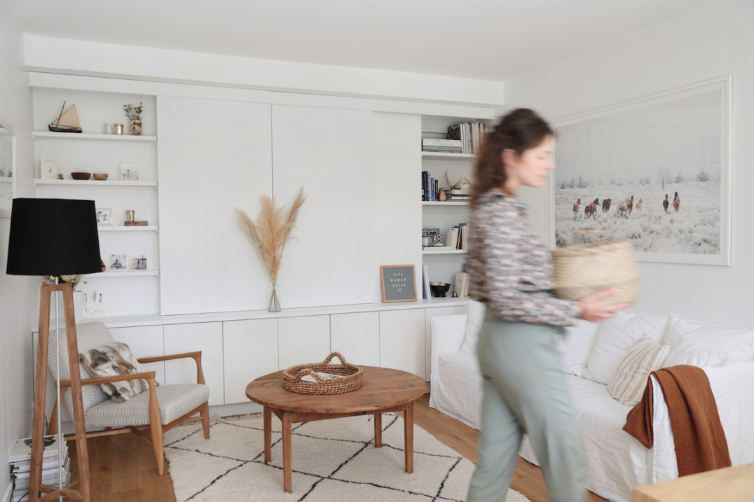 L'appartement minimaliste de Lara Loves Paris // Hellø Blogzine blog deco & lifestyle www.hello-hello.fr