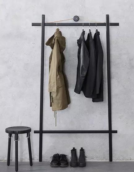 Portant à vêtements - Clothes rack // Hellø Blogzine - Blog déco Lifestyle - www.hello-hello.fr