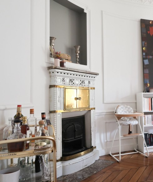 Visite d'un appartement haussmannien à la déco Paris-Orient - Parisian and Oriental decor in an haussmanien flat // Hellø Blogzine blog deco & lifestyle www.hello-hello.fr