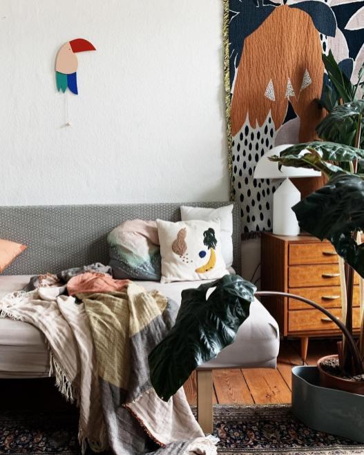 Déco Urban Jungle chez Herz und Blut à Berlin // Hellø Blogzine - Blog déco Lifestyle - www.hello-hello.fr
