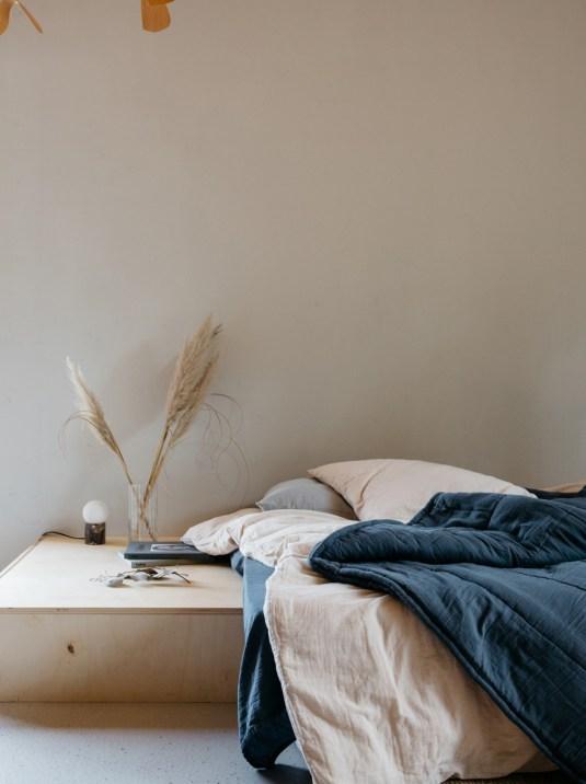 Draps et housse de couette en gaze de coton ou en lange // Hellø Blogzine blog deco & lifestyle www.hello-hello.fr
