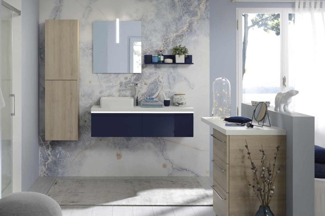 Meubles de salle de bain modulables, gamme Illusion, Sanijura // Hellø Blogzine blog deco & lifestyle www.hello-hello.fr