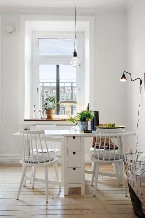 Un coin repas pour les petits espaces