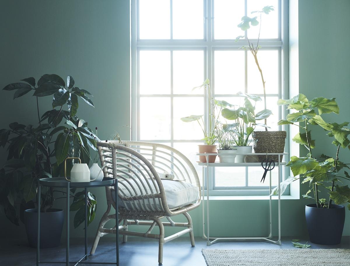 le fauteuil en rotin buskbo de ikea h ll blogzine. Black Bedroom Furniture Sets. Home Design Ideas