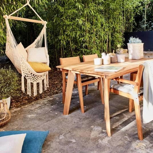 Shopping déco : Où trouver du beau mobilier de jardin en bois ?