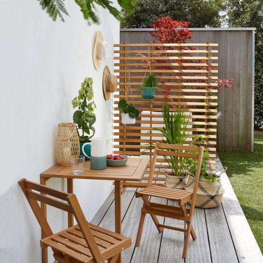 Table de jardin escamotable La Redoute Intérieurs // Hellø Blogzine blog deco & lifestyle www.hello-hello.fr