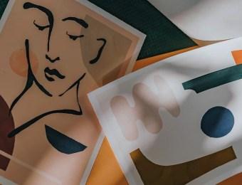 Les affiches arty abstraites pas chers de Jan Skacelik // Hellø Blogzine - Blog déco Lifestyle - www.hello-hello.fr