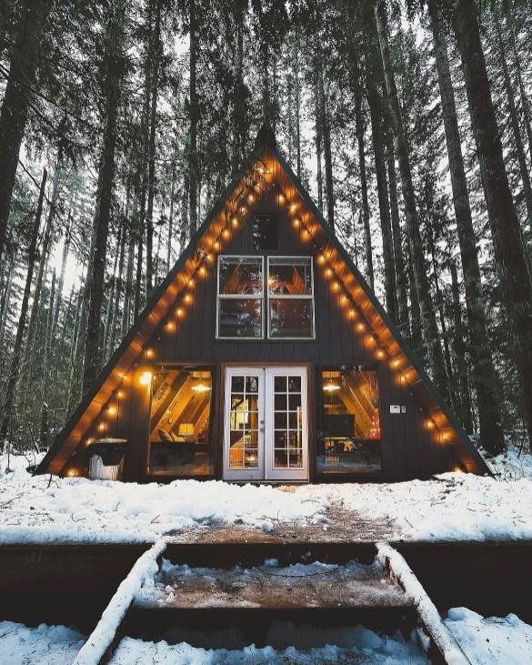 8 cabanes de montagne de rêve à réserver sur Airbnb // Hëllø Blogzine blog deco & lifestyle www.hello-hello.fr