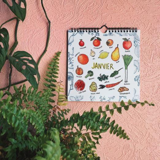 Calendriers fruits et légumes de saison // Hellø Blogzine blog deco & lifestyle www.hello-hello.fr