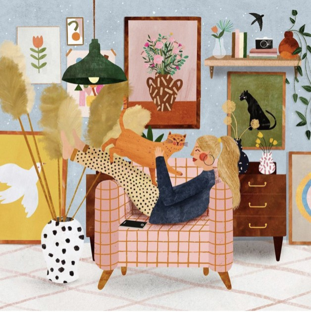 Le confinement inspire les illustrateurs // Hellø Blogzine blog deco & lifestyle www.hello-hello.fr