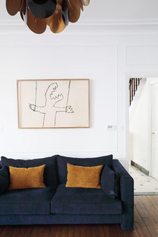 Une maison de ville rénovée - Charles, responsable de la prescription chez Elitis // Hellø Blogzine blog deco & lifestyle www.hello-hello.fr