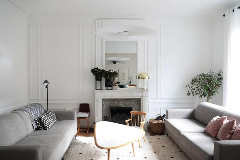 L'appartement scandinave et vintage de la décoratrice d'intérieur Julie Hirtz // Hellø Blogzine blog deco & lifestyle www.hello-hello.fr