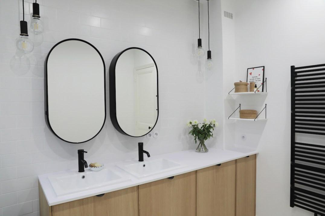L'appartement mis and match de Julie, décoratrice d'intérieur // Hellø Blogzine blog deco & lifestyle www.hello-hello.fr
