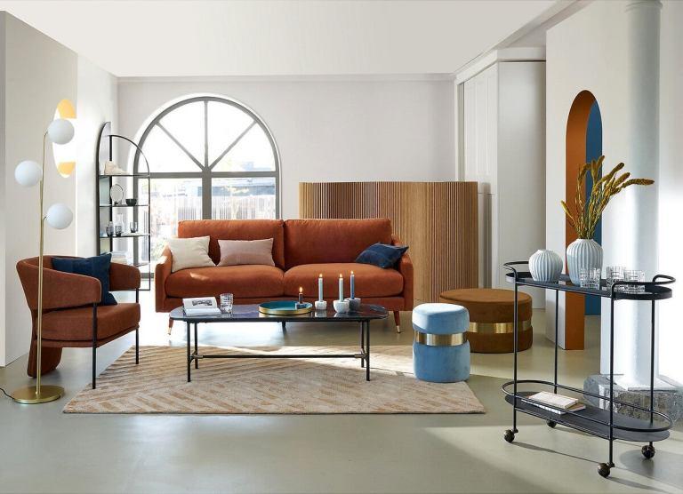 Grande table basse minimaliste en marbre // Hello Blogzine - blog déco lifestyle - www.hello-hello.fr