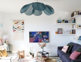 L'appartement créatif et DIY de Claire, fondatrice de Seize Paris // Hellø Blogzine blog déco & lifestyle www.hello-hello.fr