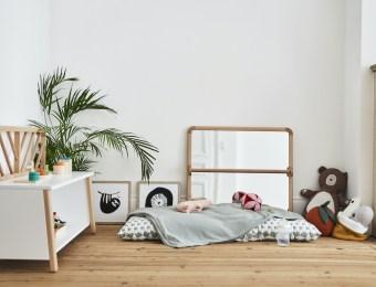 Des meubles pour une chambre d'enfant Montessori // Hellø Blogzine blog deco & lifestyle www.hello-hello.fr