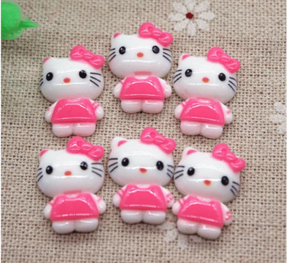 Cabochon Hello Kitty à coller