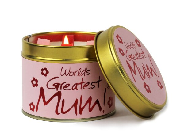 Greatest Mum Candle Hello Petal