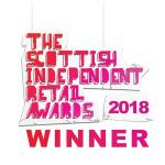 Winner Logo Scottish Independent Retail Awards 2018