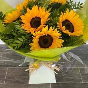 Sunflower Explosion Flower Bouquet