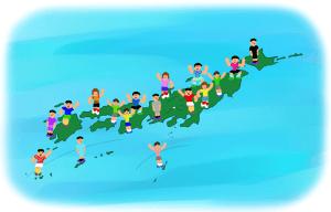 w780-知る 日本地図(背景あり) ミニラグビー