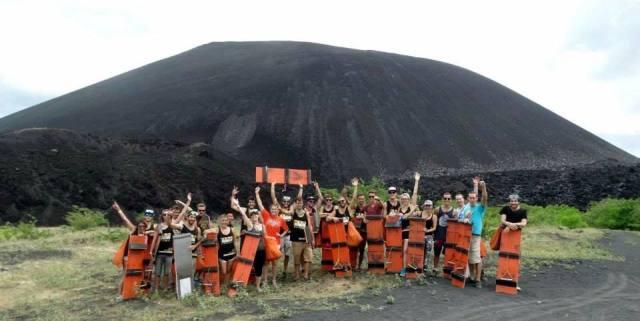 2014.07.28 - Leon Volcano Boarding 01