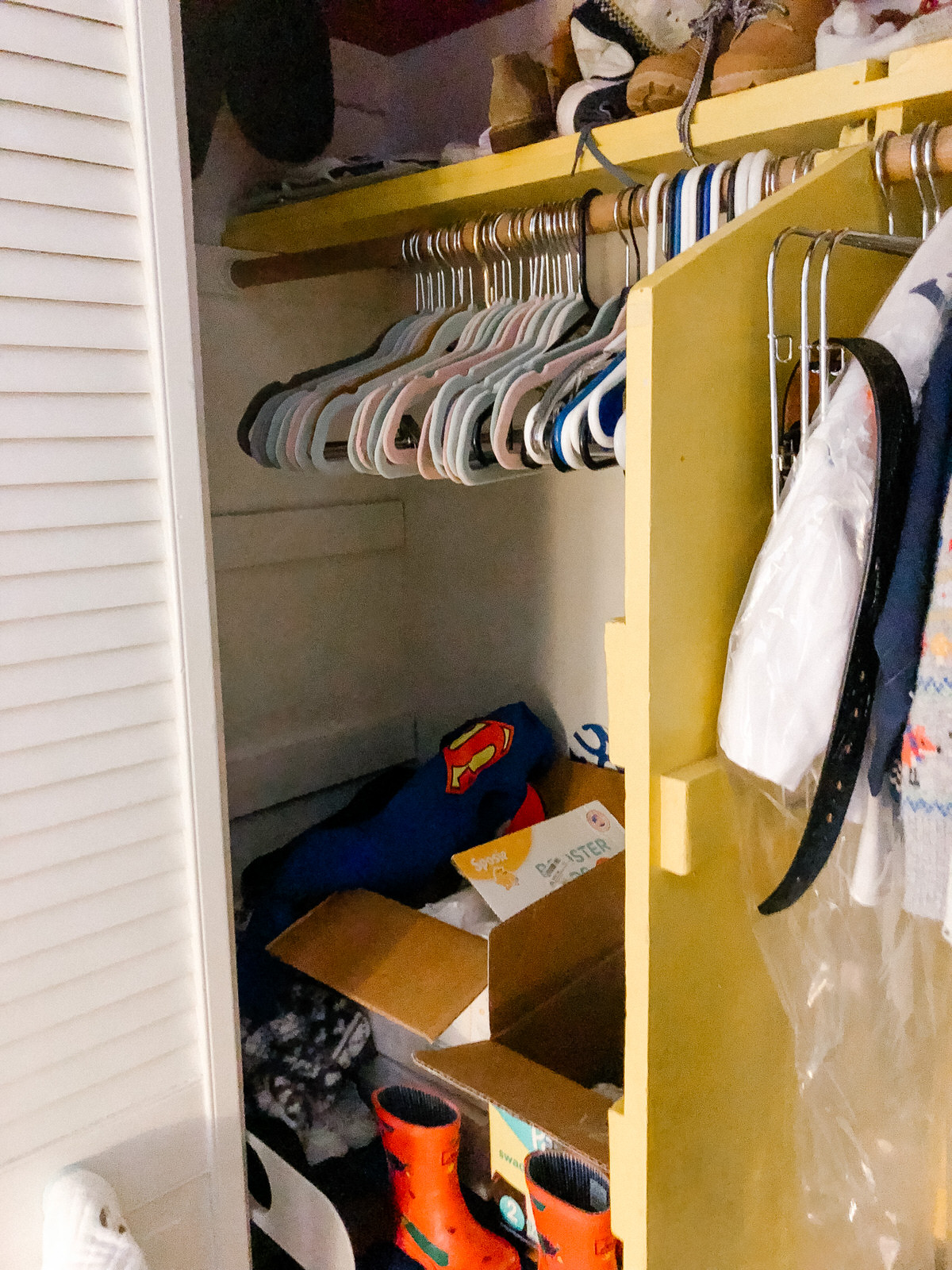 Charlie S Closet Makeover With The Container Store Hello