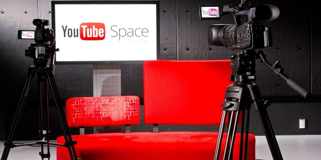 google youtube space